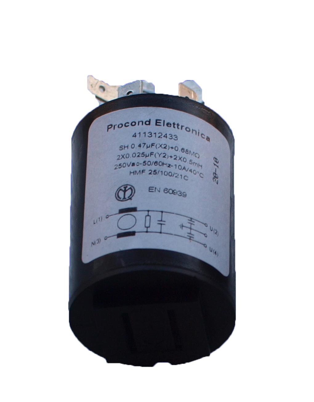 Фильтр сетевой для стиральной машины Indesit C00064559