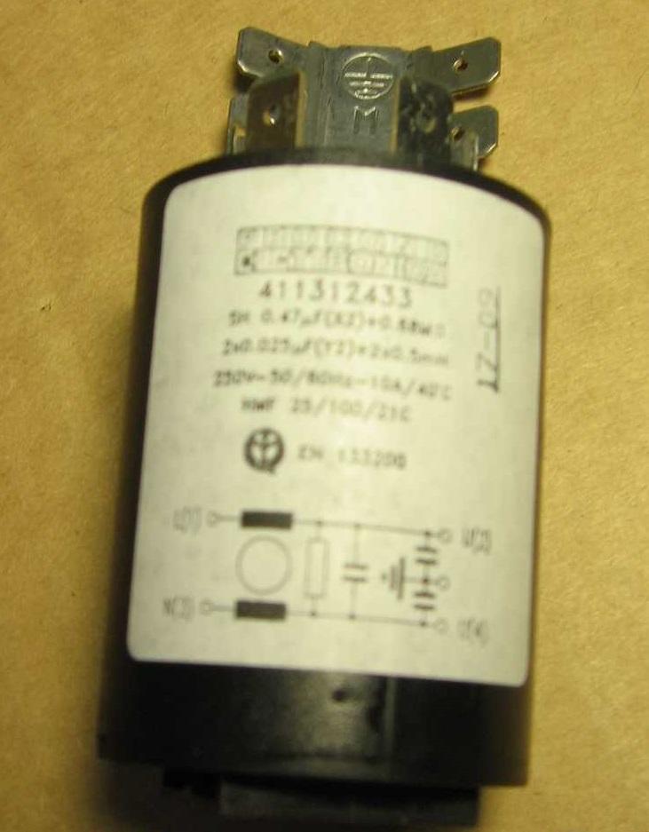 Фильтр сетевой для стиральной машины Ardo 651016825