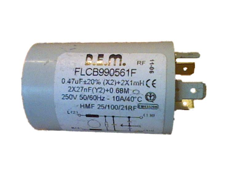 Фильтр сетевой для стиральной машины Ardo 651016783