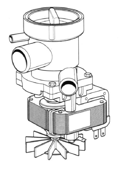 Насос для стиральной машины Bosch 1626007