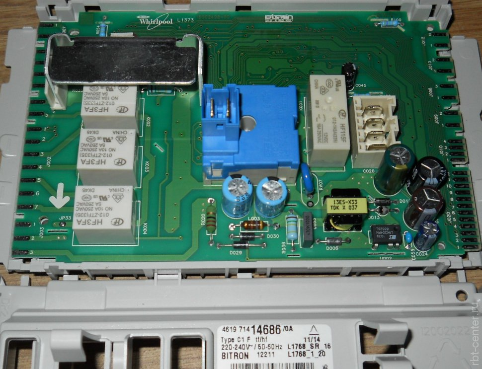 Электронный модуль для стиральной машины Whirlpool 481221470092