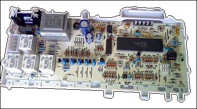 Электронный модуль для стиральной машины Ariston C00143372