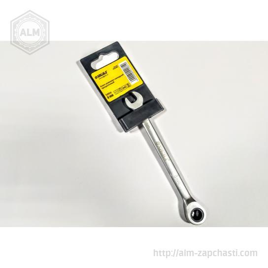 Ключ рожково-накидной трещоточный Sigma 6022081